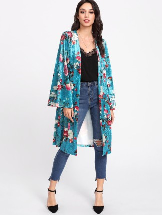Shein_Rose_Print_Kimono