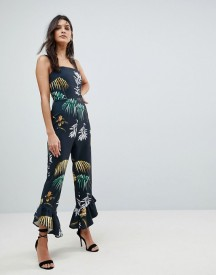 ASOS Square Neck Jumpsuit with Frill Hem in Flamenco Print (size 4-18), $38 - http://www.asos.com/asos/asos-square-neck-jumpsuit-with-frill-hem-in-flamenco-print/prd/8888320?clr=tropicalprint&SearchQuery=jumpsuit&gridcolumn=3&gridrow=1&gridsize=3&pge=3&pgesize=72&totalstyles=432