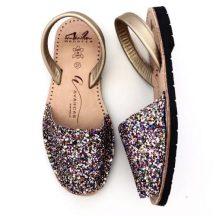 Avarcas Australia Glitter Sandals - https://www.avarcasaustralia.com.au/products/glitter-multi-gold-avarcas