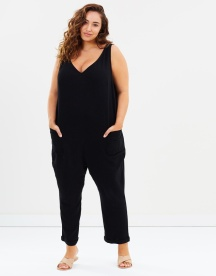 Atmos&Here Curvy Barbados Jumpsuit (size 18-26), $69.95 - https://www.theiconic.com.au/barbados-jumpsuit-577103.html