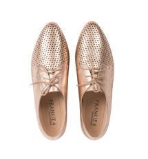 FRANKiE4 Footwear Beth in Rose Gold, $229.95 -http://bit.ly/2Gvey4x