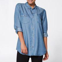 Target Chambray Denim Shirt (size 6-20), $39 -http://bit.ly/2ok1lnm