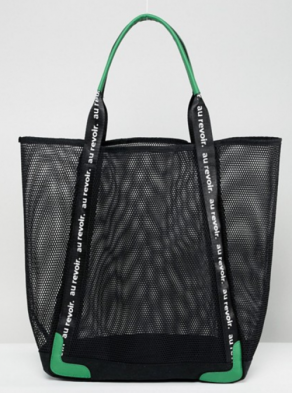 Stradivarius large mesh shopper